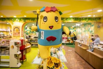 Le Japon, amoureux des mascottes)