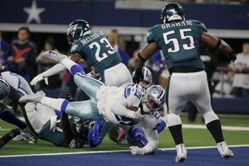 Les Cowboys écrasent les Eagles