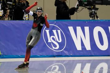Ivanie Blondin gagne une cinquième médaille d'or consécutive