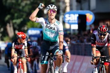 Tour d'Italie Peter Sagan sans faute)