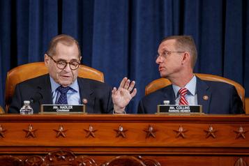 Républicains et démocrates débattent de la destitution de Trump