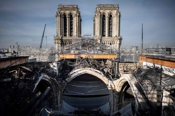 Notre-Dame de Paris L'échafaudage démonté, la restauration se prépare)