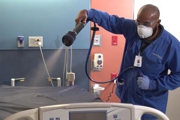 Un revêtement anti-microbes serait capable d'éliminer le coronavirus pour 90jours)