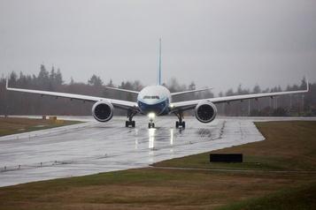 Boeing: le vol inaugural du 777X encore repoussé à cause du vent