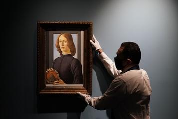 Un rare Botticelli aux enchères)