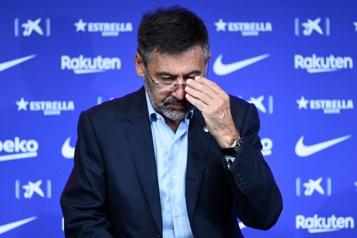 FC Barcelone L'ex-président Josep Maria Bartomeu arrêté par la police)