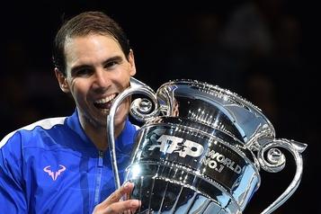 Rafael Nadal termine la saison au sommet