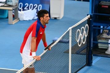 Tennis Novak Djokovic repart de Tokyo sans médaille)