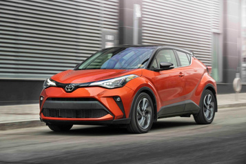 Les rivaux du Toyota C-HR)
