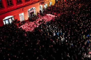 Les Tchèques et les Slovaques marquent les 30ans de la Révolution de velours