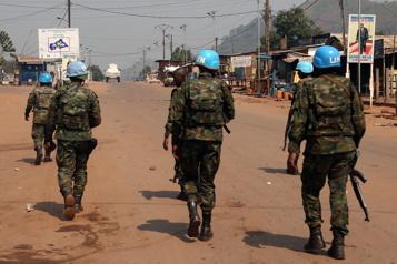 Centrafrique: deux Casques bleus tués par les rebelles)