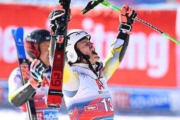 Coupe du monde de ski alpin Lucas Braathen remporte le premier slalom géant de la saison)