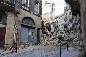 France Trois blessés dans l'effondrement de deux immeubles à Bordeaux)