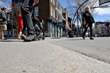 À Québec, lesrues piétonnes se multiplient)