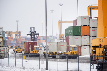 Blocus ferroviaire: le Port de Montréal se veut rassurant