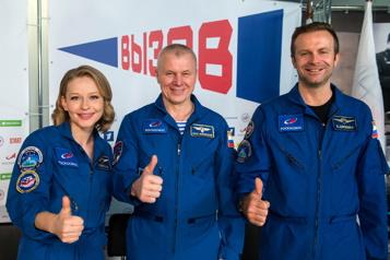 Premier film en orbite «Là-haut, c'est l'espace qui commande»