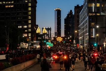 Émeutes aux États-Unis: couvre-feu imposé à New York)