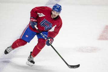 Rocket de Laval Enfin du hockey pour Joël Teasdale)