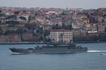 Ukraine Washington dénonce l'«escalade» de Moscou en mer Noire)