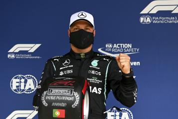 Grand Prix du Portugal Valtteri Bottas obtient la position de tête)
