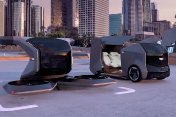 GM dévoile un modèle de voiture volante)