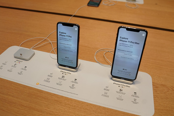 iPhone11 et 11 Pro Max: objectif atteint