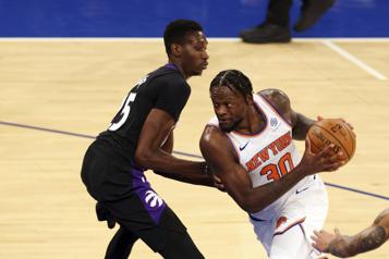 Les Knicks défont les Raptors102-96)