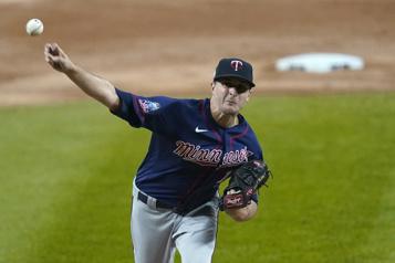 Le lanceur Jake Odorizzi s'entend avec les Astros)