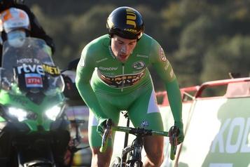 Tour d'Espagne Primoz Roglic reprend le maillot rouge, Piccoli lève le pied pour la suite)