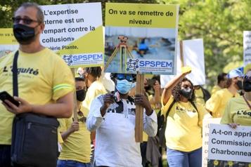 La grève des ingénieurs municipaux affecte le REM)