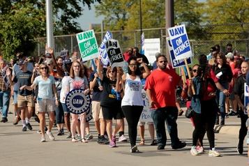 La grève chez General Motors entre dans son huitième jour