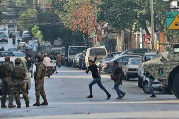 Six morts Scènes de guerre civile à Beyrouth, appels à la désescalade
