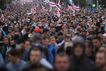 Biélorussie Macron compte aider la médiation, Poutine dénonce des «pressions»)