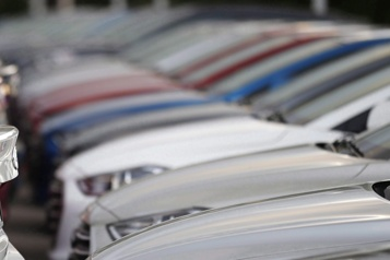Hausse des ventes de véhicules en avril au Canada)