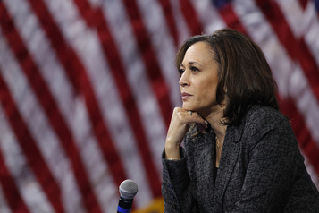 Maintes fois pionnière, Kamala Harris se rêve en première vice-présidente noire)