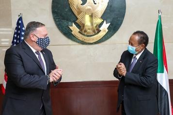 Le Soudan écarte devant Mike Pompeo une normalisation prochaine avec Israël)