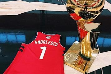 Les Raptors ravis pour Andreescu