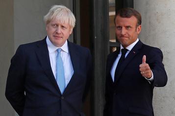 Johnson et Macron veulent croire à un accord sur le Brexit