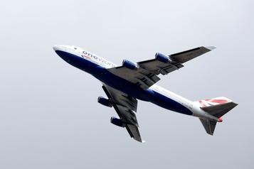 British Airways vend des objets du Boeing747)