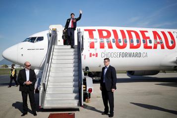 Trudeau le voyageur, Blanchet l'hyperactif