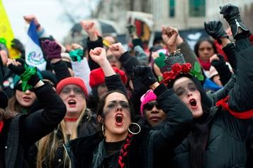 Aux États-Unis, dernière Marche des femmes avant la présidentielle