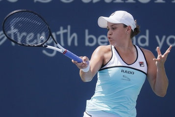 Ashleigh Barty poursuit sa route à Cincinnati