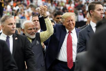 Trump tente de séduire la diaspora indienne