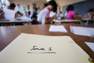 Une classe de 5e année abandonnée