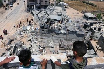 Frappes israéliennes à Gaza Plus de 40Palestiniens tués, un chef du Hamas ciblé)