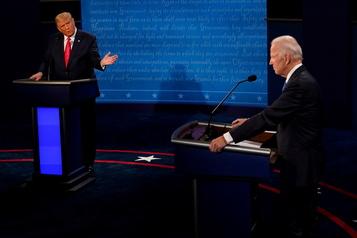 Relisez notre clavardage du débat Trump-Biden)