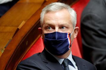 Le ministre français Bruno LeMaire atteint de la COVID-19)