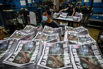 Fermeture du Apple Daily à Hong Kong Biden dénonce «un triste jour» pour la liberté de la presse)