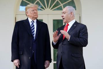 Trump optimiste à la veille de la présentation de son plan de paix israélo-palestinien