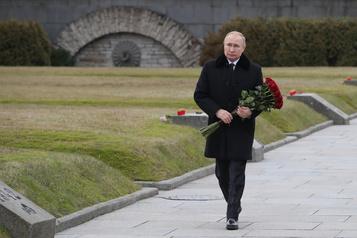Poutine insiste sur la nécessité d'organiser «une passation du pouvoir»